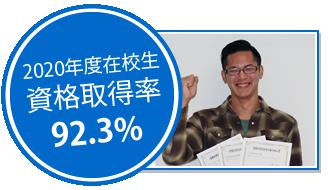 資格取得率92.3%
